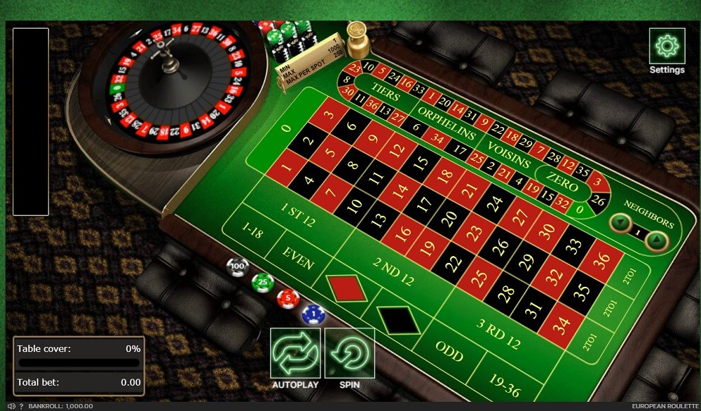 777 Casino Automated Roulette