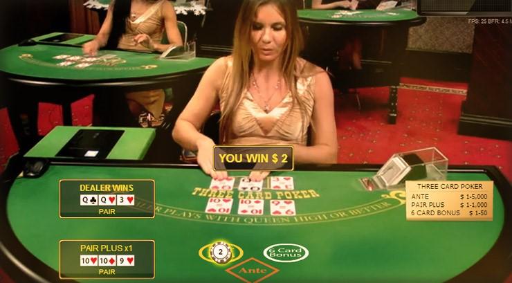 777 Casino Live Poker