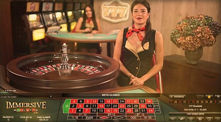 777 Casino Live Roulette