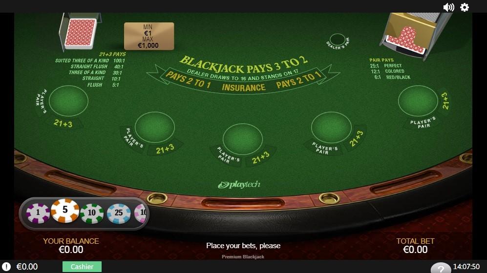 Bet365 Casino Automated Blackjack