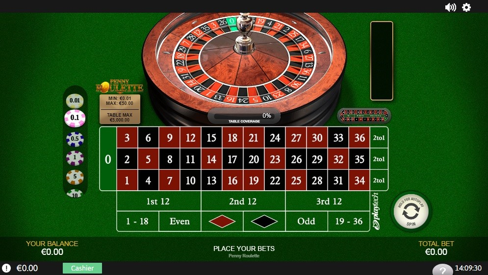 Bet365 Casino Automated Roulette