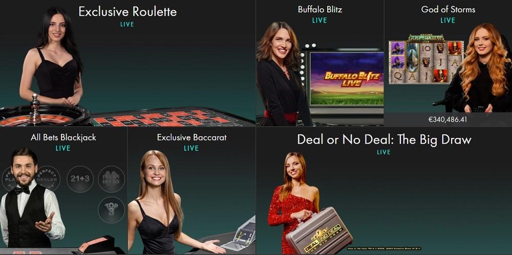 Bet365 Casino Live Casino Games