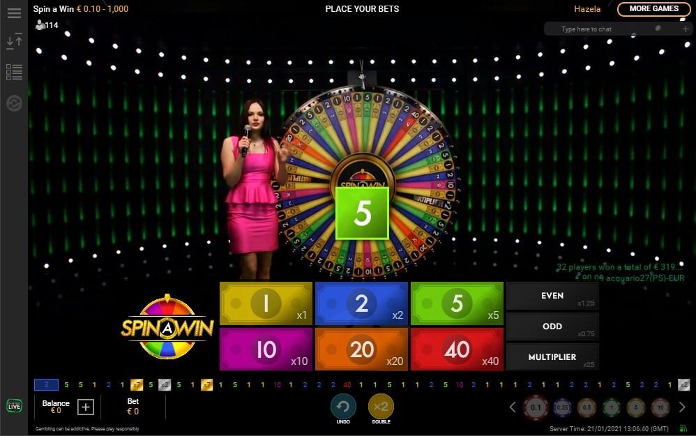 Bet365 Casino Live Game Show