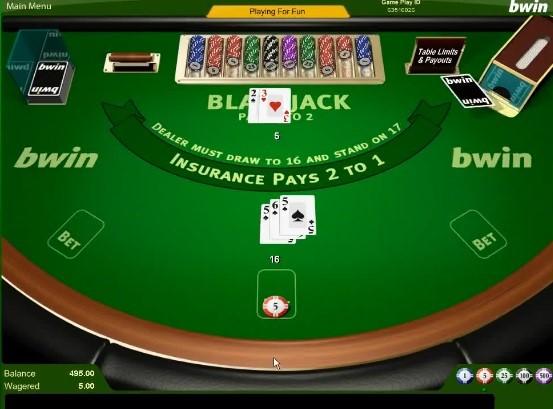 Bwin Casino Automated Blackjack