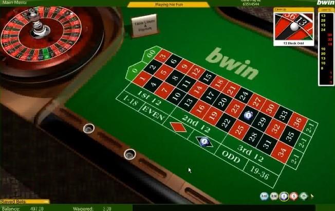 Bwin Casino Automated Roulette