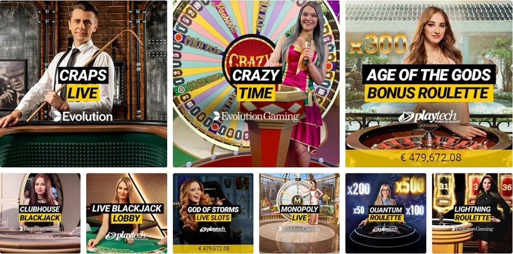 Bwin Casino Live Casino Games