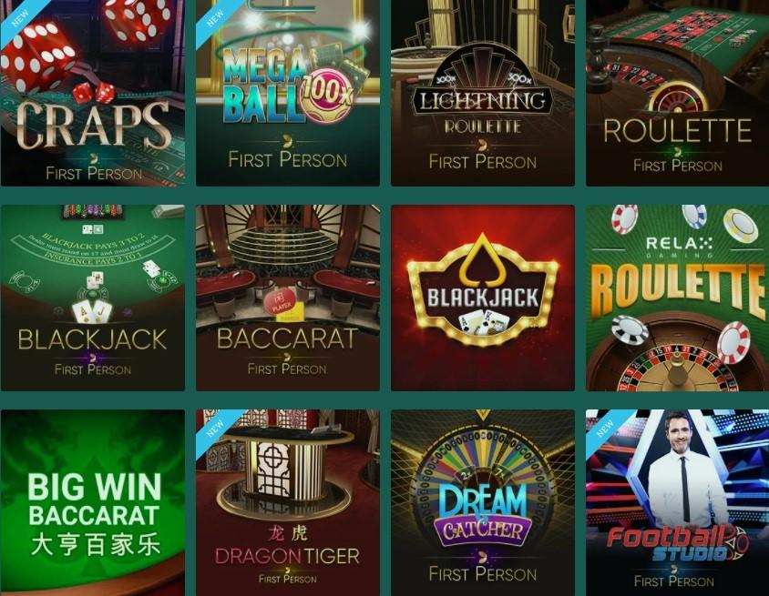 Cresus Online Casino Automated Casino Table Games