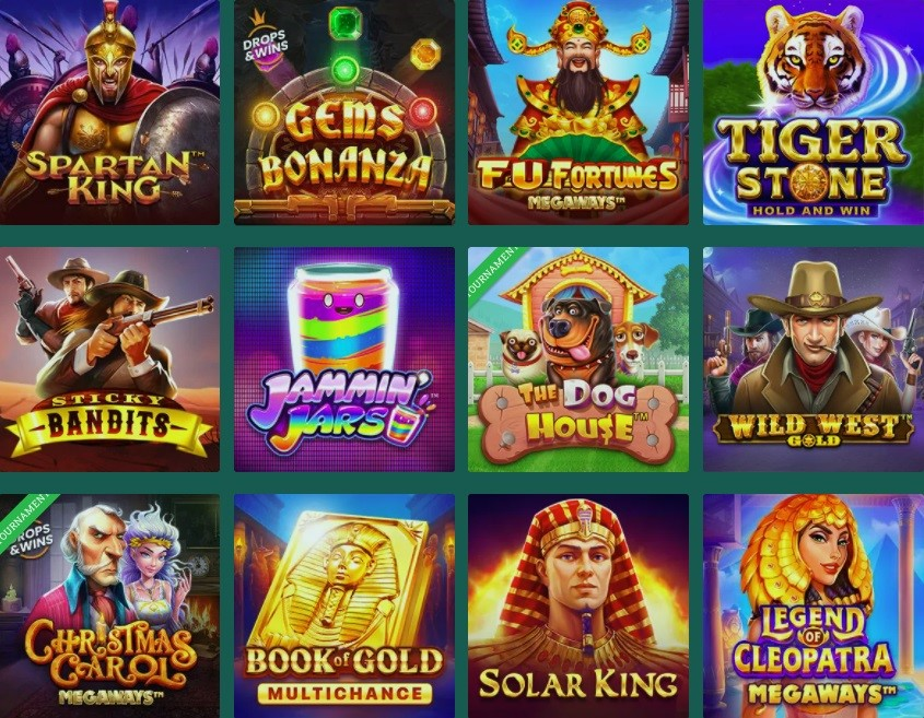 Cresus Online Casino Slots