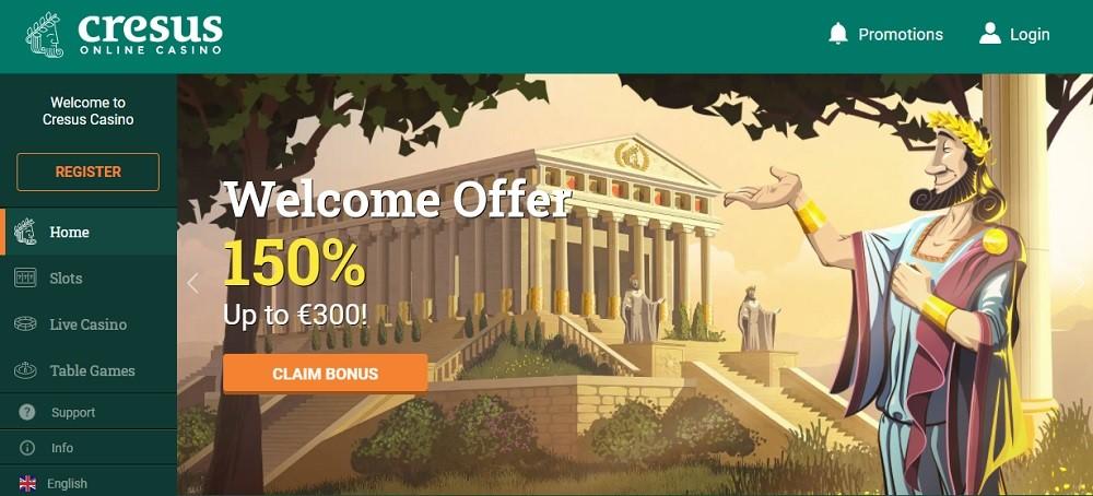 Cresus Online Casino Review