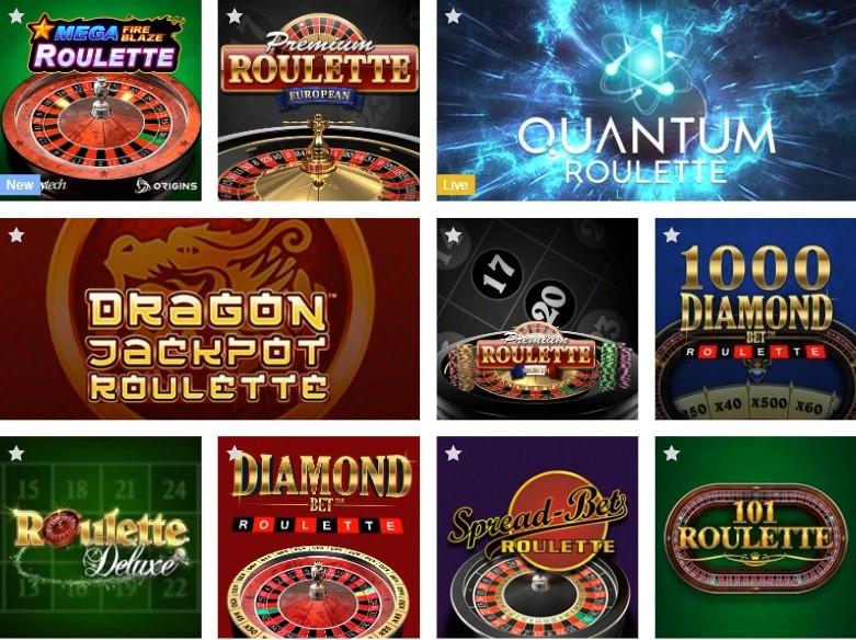Europa Casino Automated Casino Table Games