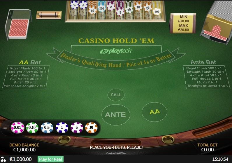 Europa Casino Automated Poker