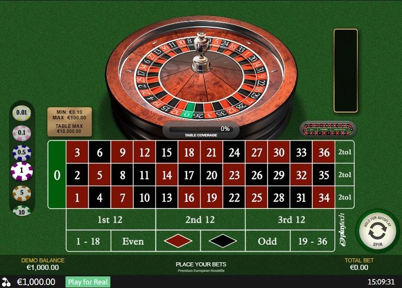 Europa Casino Automated Roulette