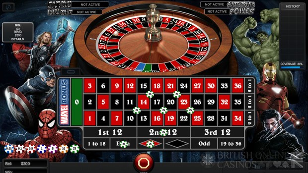 Gala Casino Automated Roulette