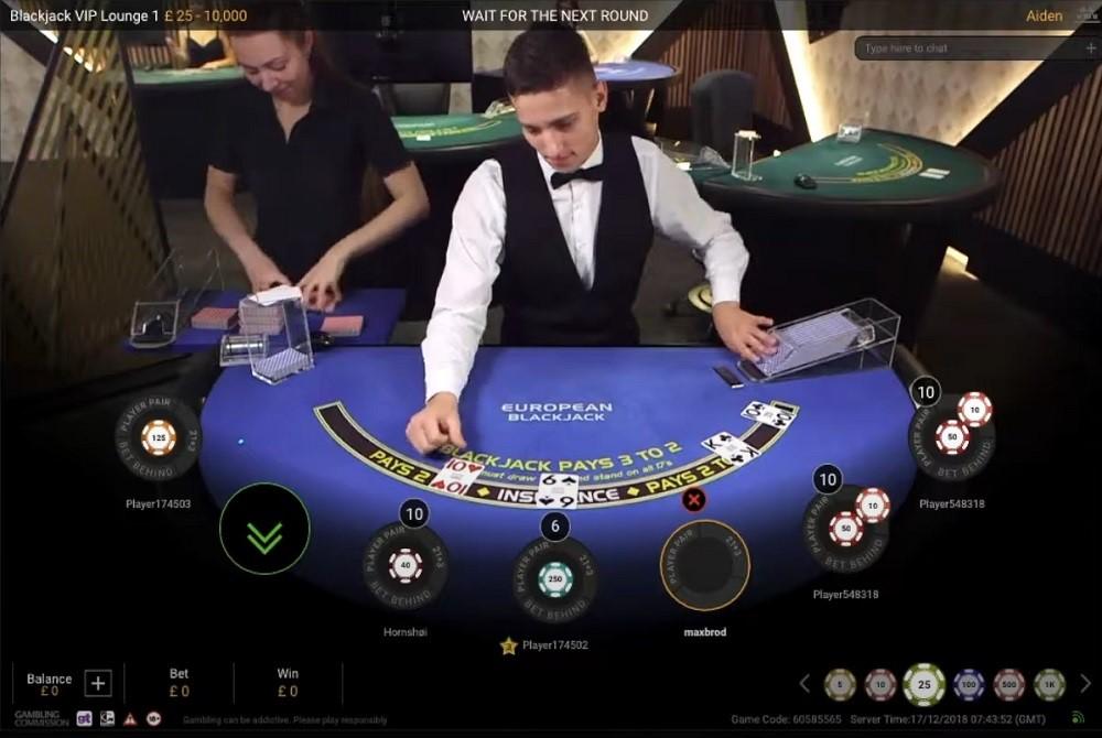 Gala Casino Live Blackjack