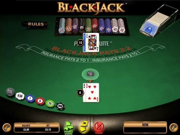 Grosvenor Casino Automated Blackjack