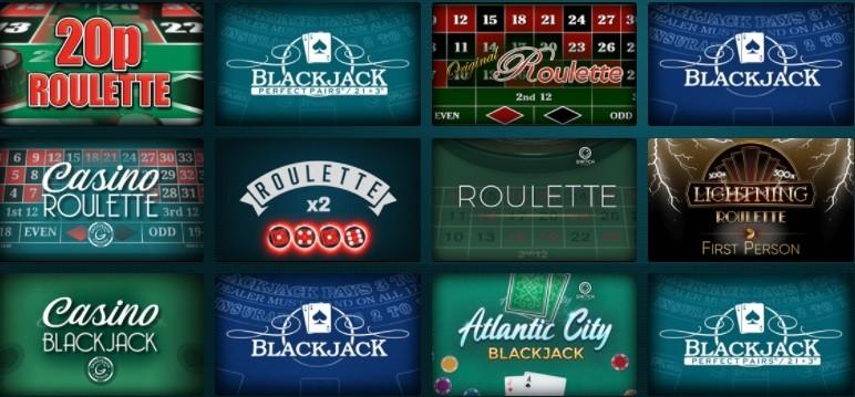 Grosvenor Casino Automated Casino Games