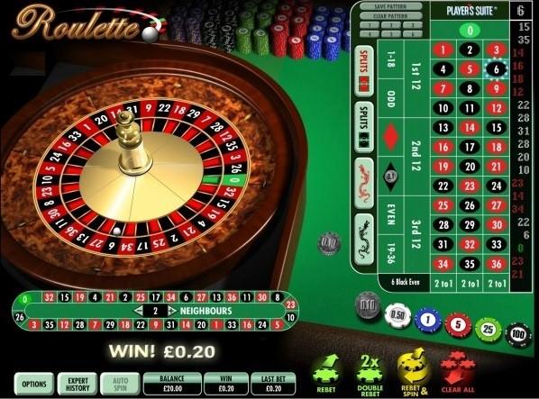 Grosvenor Casino Automated Roulette