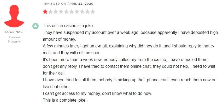 Grosvenor Casino Player Review