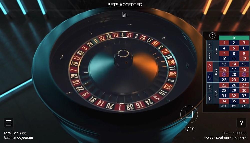 Jackpot City Casino Automated Roulette