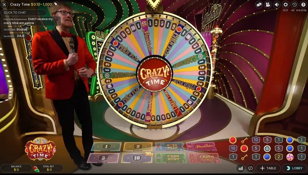 Jackpot City Casino Live Game Show