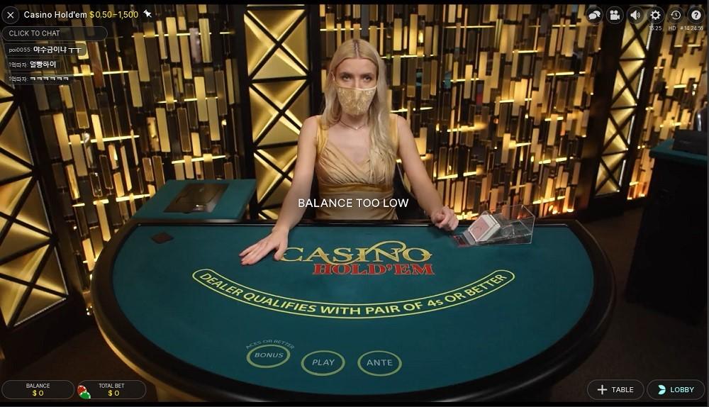 Jackpot City Casino Live Poker