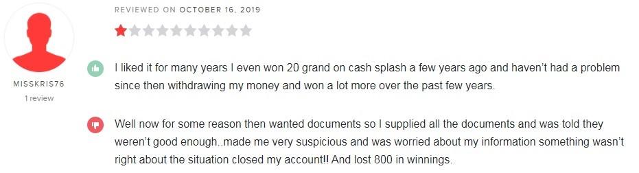 Jackpot City Casino Player Review 3