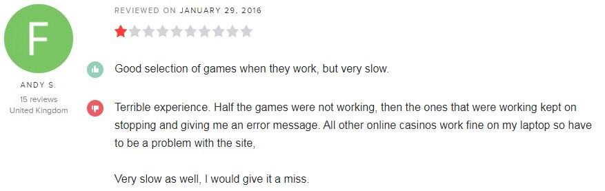 Maria Casino Player Review 3