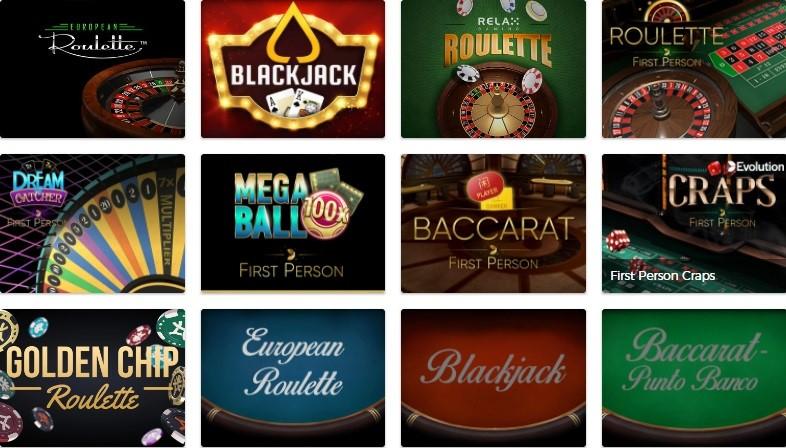 Mr Green Casino Automated Casino Games