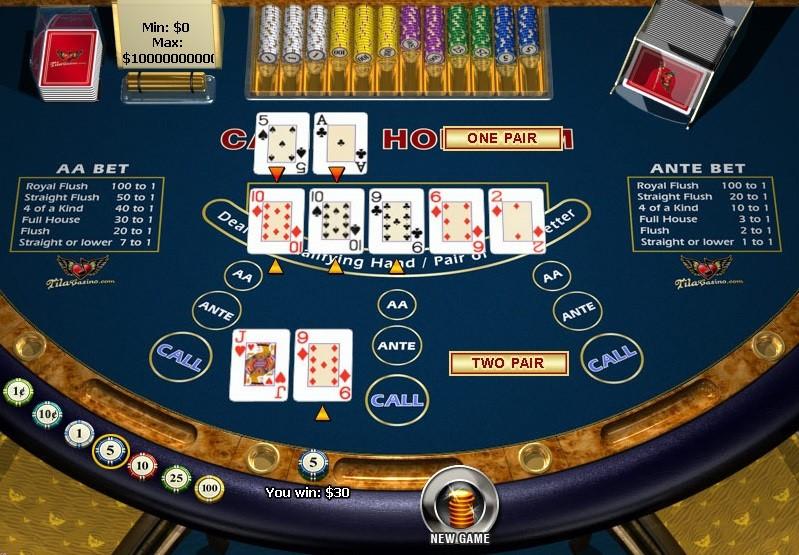 Mr Green Casino Automated Poker