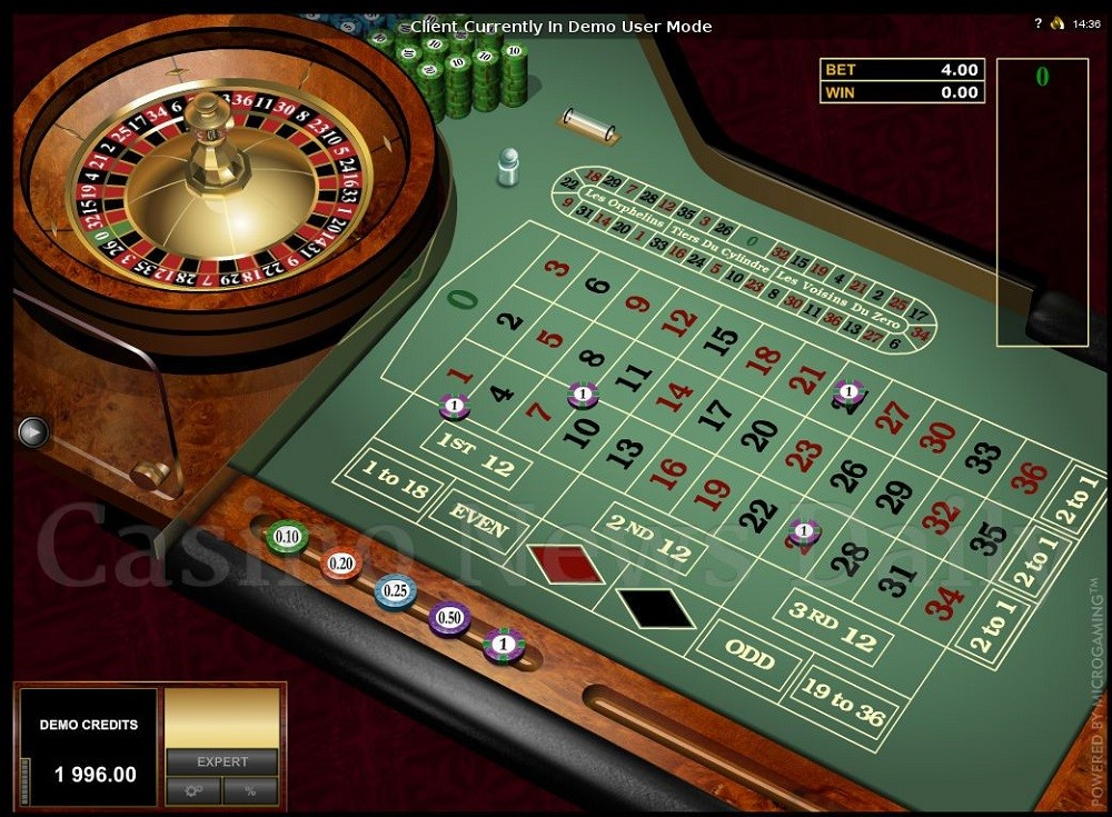 Mr Green Casino Automated Roulette