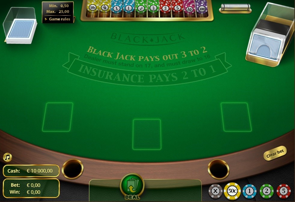 One Casino Automated Blackjack