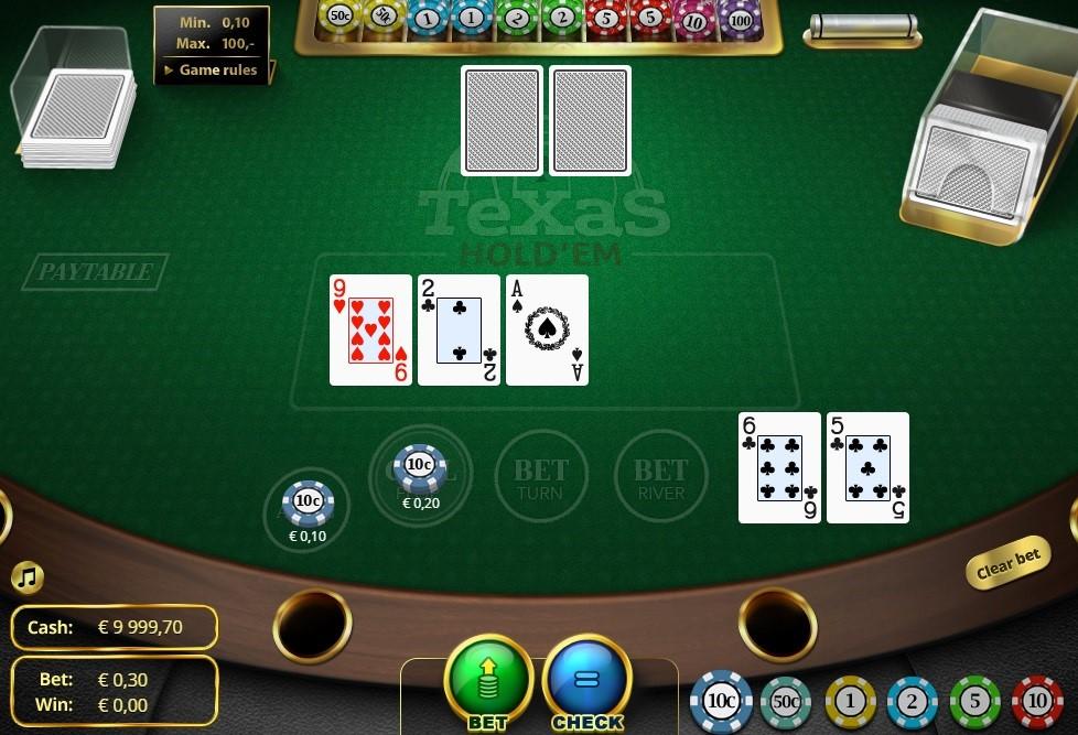 One Casino Automated Poker