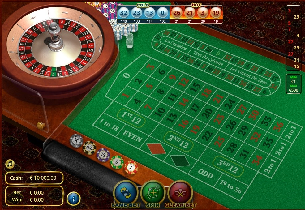 One Casino Automated Roulette