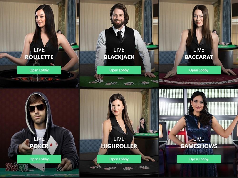 One Casino Live Casino Games