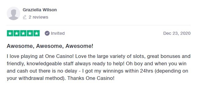 One Casino Player Review 2
