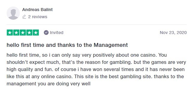 One Casino Player Review 5