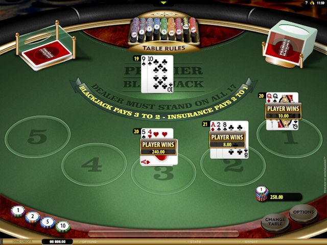 Optibet Casino Automated Blackjack