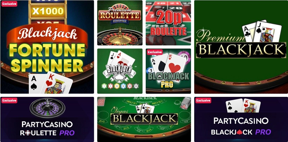 Party Casino Automated Casino Table Games