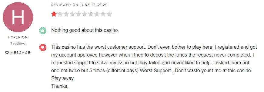 Party Casino Player Review 2