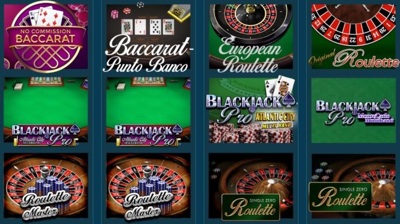 Platin Casino Automated Casino Games