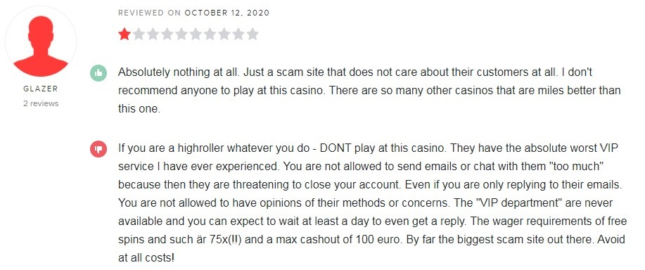 Platin Casino Player Review 3