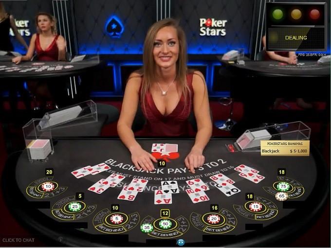 Poker Stars Casino Live Blackjack