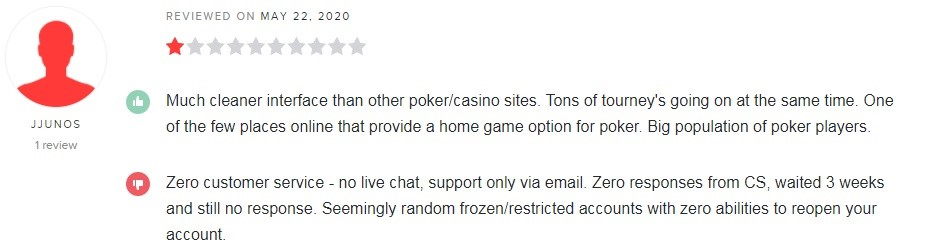 Poker Stars Casino Player Review