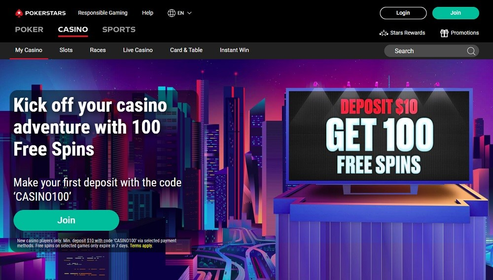 Poker Stars Casino Review