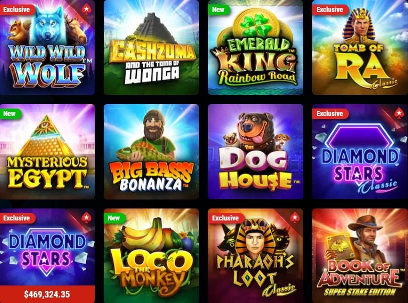 Poker Stars Casino Slots