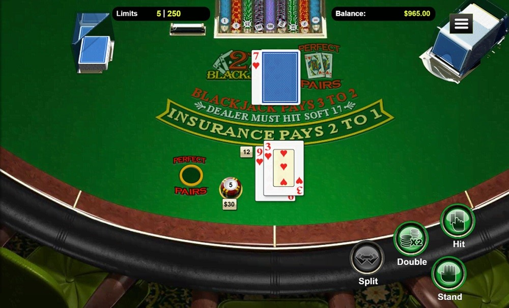 Raging Bull Casino Automated Blackjack