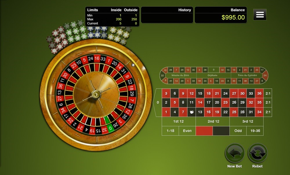 Raging Bull Casino Automated Roulette