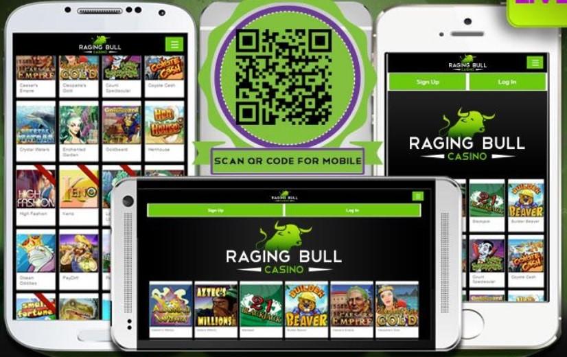 Raging Bull Casino Mobile App