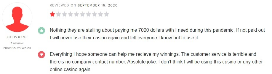 Raging Bull Casino Player Review