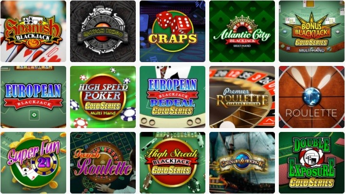 Spin Casino Automated Casino Table Games